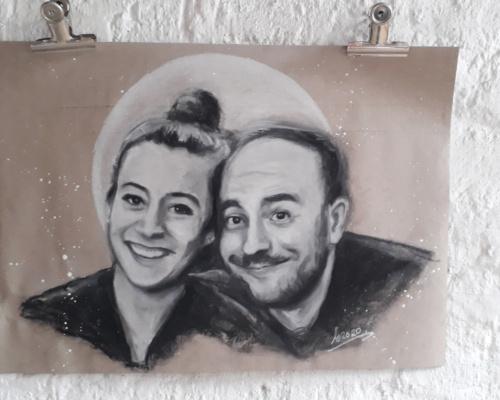 Portraitzeichnung