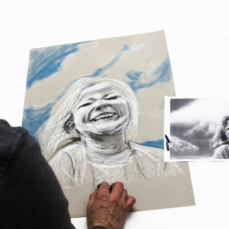 Portrait -Zeichenkurs